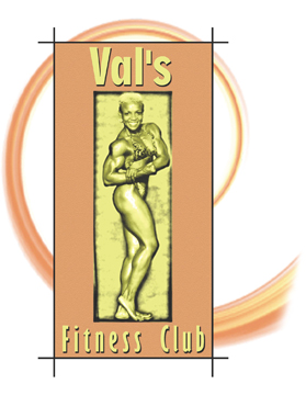 Val's Fitness Club small logo